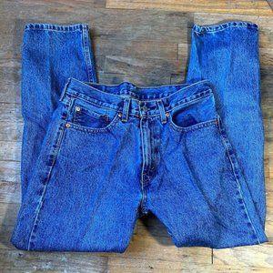 Levi 505 jeans mens straight leg regular cut